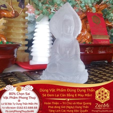 Vật phẩm Phật Quan Âm – Trấn Ôtô – Ngọc Lưu Ly – Thượng Lộ Bình An | Dụng Thần Kim