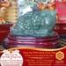 Vật phẩm Thiềm Thừ - Cóc Vượng Tài – Ngọc Bích – Tụ Tài Tích Lộc   Dụng Thần Mộc