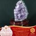 Vật phẩm Núi Thạch Anh – Thuyền Ra Biển – Thạch Anh Tím – Chiêu Tài Cải Vận | Dụng Thần Hoả