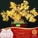 Vật phẩm Cây tài Lộc Thạch Anh Vàng – Tài Lộc Viên Mãn – May Mắn Hội Tụ | Dụng Thần Thổ