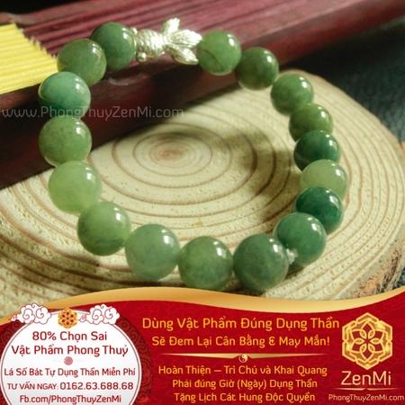 Vòng Tay Ngọc Bích Jade It - Tài Lộc. May Mắn | Dụng Thần Mộc