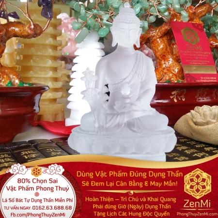 Vật phẩm Phật Dược Sư - Chưng Ôtô - Đá Lưu Ly - Thượng Lộ Bình An   Dụng Thần Kim