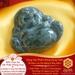 Mặt Dây Di Lặc Vi Tếu - Ngọc Ấn Độ - Hộ Phù Cho Trẻ | Dụng Thần Mộc