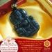 Mặt Dây Quan Công Võ Thánh - Đá Thiên Thạch Tektit - Làm Ăn Mau Mắn|Dụng Thần Thuỷ