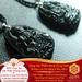 Mặt Dây Phổ Hiền Bồ Tát - Đá Obsidian - Tuổi Thìn + Tỵ|Dụng Thần Thuỷ