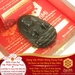 Mặt Dây Bất Động Minh Vương Bồ Tát - Đá Obsidian - Tuổi Dậu | Dụng Thần Thuỷ